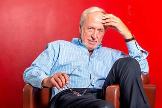 Robert Plomin, professeur de génétique comportementale au King's College, la prestigieuse université londonienne.  ©Stuart FREEDMAN/PANOS-REA