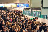 Seules les lignes 1 et 14 du métro parisien fonctionneront normalement ce vendredi 13 décembre. (Illustration)