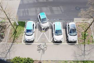 L'autopartage, très séduisant, reste une solution de très grandes villes, les banlieues d'Ile-de-France n'en bénéficiant même pas.