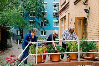 En Allemagne, la réforme des retraites passe par le consensus.  ©Kristin Bethge