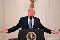 Lors du débat en commission, les républicains ont dénoncé une «mascarade»ou encore un «coup monté»contre le président Donald Trump (photo d'illustration).
