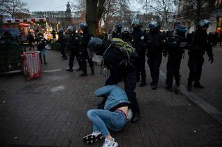 Un des deux étudiants avait été interpellé durant la manifestation.