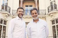 Arthur et Frank-Élie Benzaquen, propriétaires de Ken Group.
