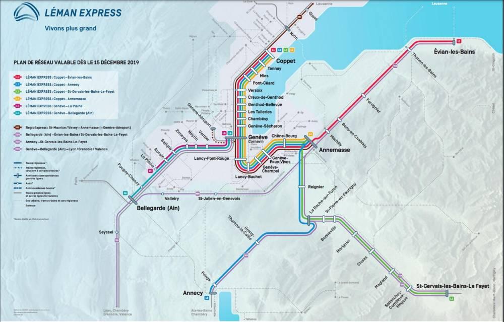 Avec leLéman Express, Genève devient unemétropole franco-suisse