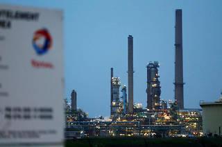 La raffinerie Total est située àGonfreville-l'Orcher, près du Havre (photo d'illustration).