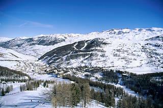 Vars dans les Hautes-Alpes.