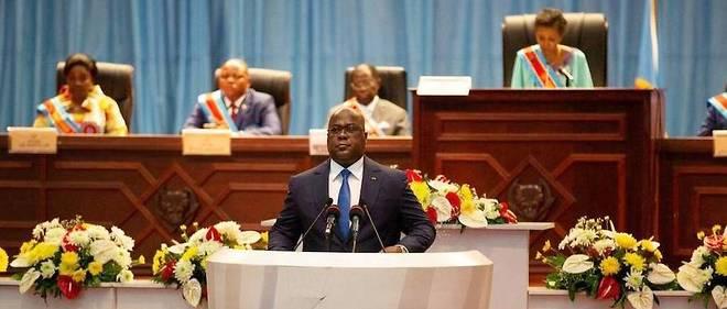 Dans une ambiance survoltee, le president Felix Tshisekedi a esquisse des pistes anticorruption en RDC ou les detournements, le blanchiment et les fraudes ont preoccupe toute la semaine le FMI, l'UE et la societe civile.