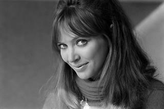 Anna Karina lors du tournage du téléfilm