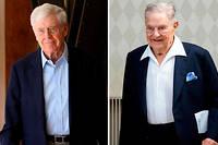 Charles Koch et George Soros.