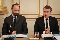 Édouard Philippe, qui avait comme Emmanuel Macron perdu 5 points le mois précédent, en regagne 4, à 30 % d'opinions favorables (photo d'illustration).