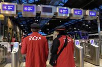 Ce déplacement en gare de Lyon a étéorganisé à l'initiative de Fabien Roussel du PCF (photo d'illustration).