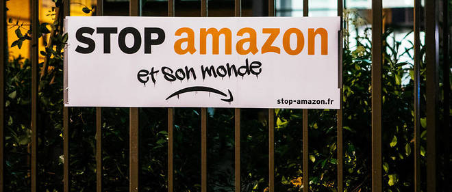 Amazon, premier beneficiaire de la greve dans les transports.