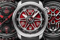 Bomberg BB-01 Automatic « Red Touch ».  1 890 €, 1 365 €  et 1 580 €.