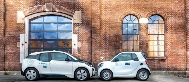 BMW et Mercedes renoncent à leur service commun d'autopartage