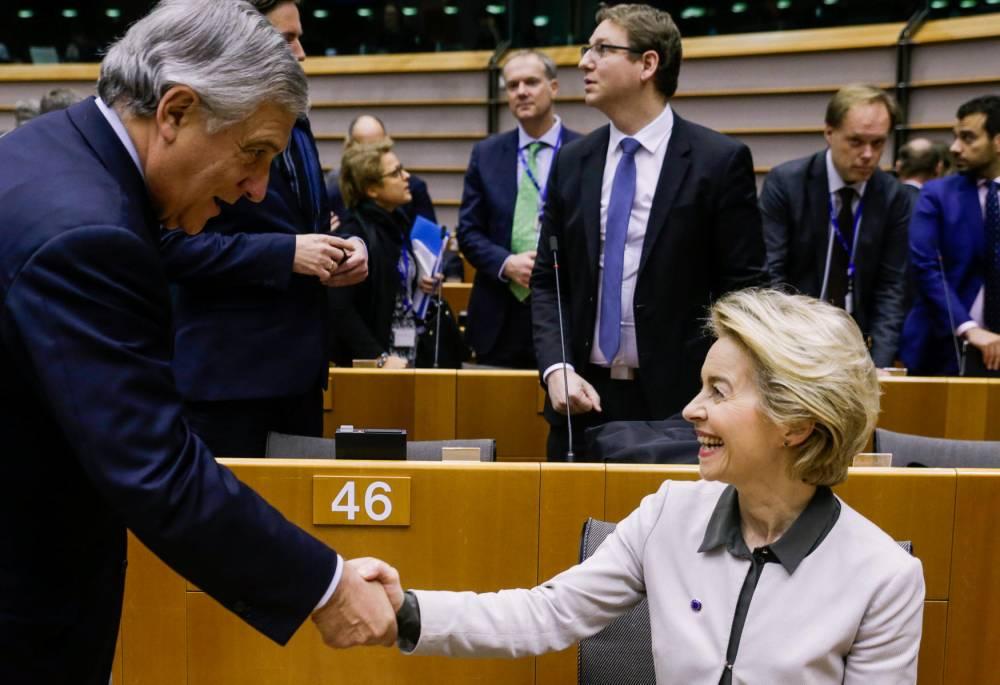 Ursula von der Leyen ©  ARIS OIKONOMOU / AFP