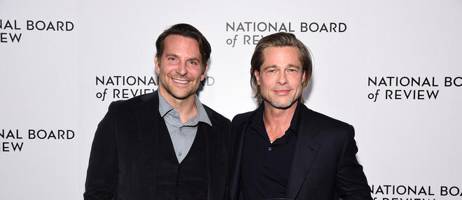 Lors de la cérémonie du National Board of Review, le 8 janvier à New York, Bradley Cooper a remis le prix du meilleur acteur dans un second rôle à Brad Pitt pour sa performance dans  Once Upon a Time in Hollywood.