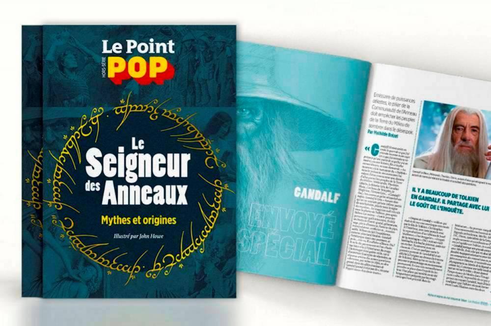 Hors-série, Le Seigneur des Anneaux par Le Point Pop  ©  Le Point Pop