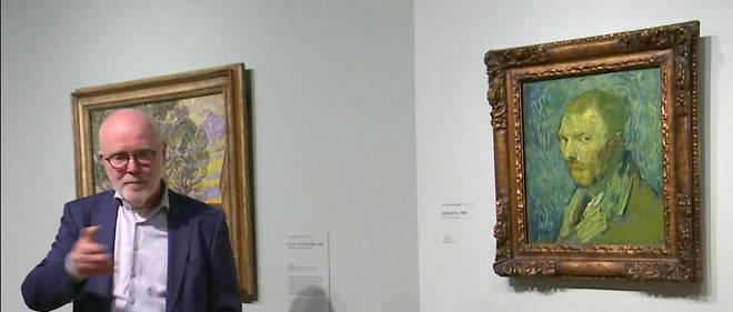 Peinture Un Autoportrait De Vincent Van Gogh Authentifie Le Point