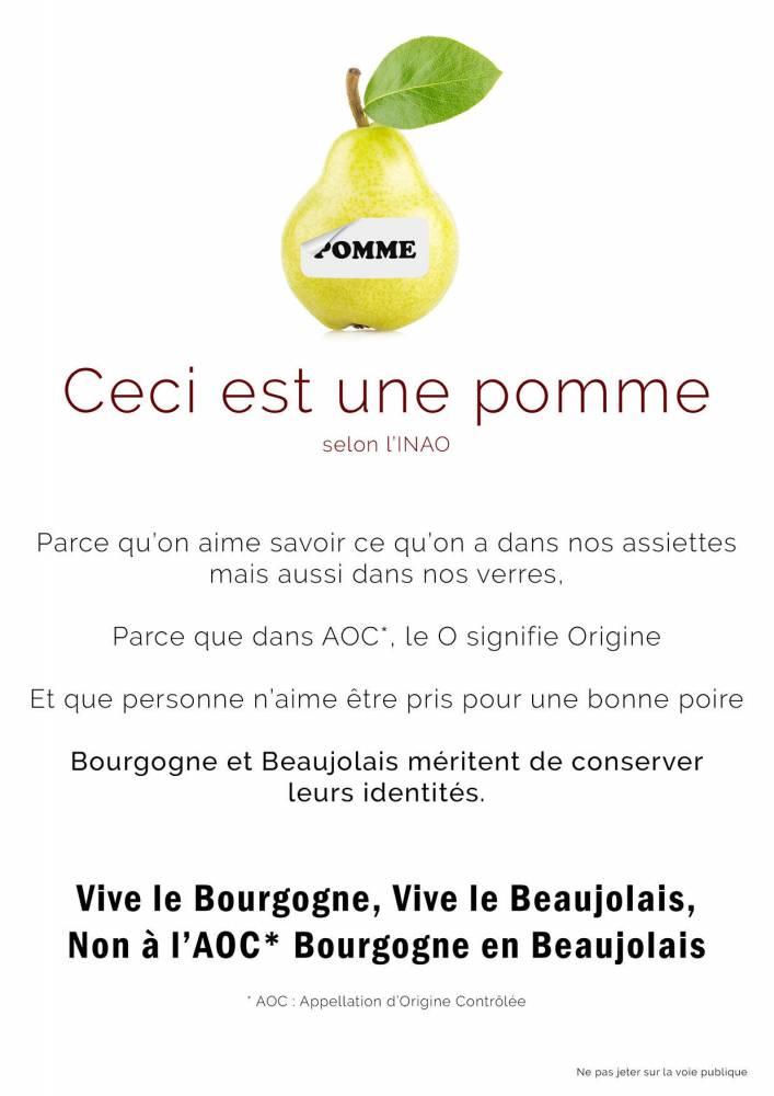 pomme-bourgogne-beaujolais-vin-inao ©  DR