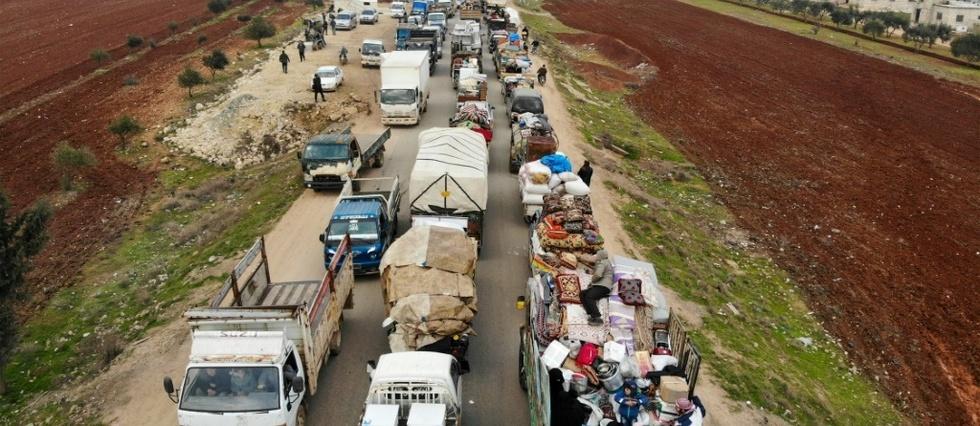 Syrie: le régime en passe de conquérir une ville stratégique du nord-ouest