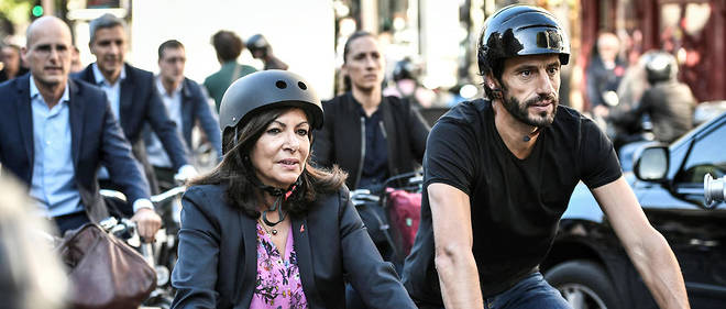 Anne Hidalgo veut rendre Paris << 100 % velo >>. (Illustration)