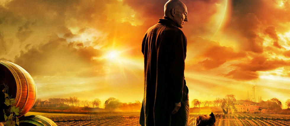 <p>Star Trek : Picard diffuse sur Amazon Prime Video.</p>