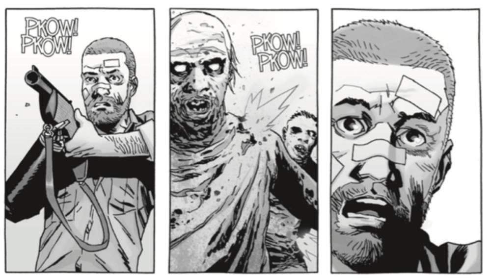 The Walking Dead ©  Walking Dead © & ™ 2020 Robert Kirkman, LLC. Tous droits réservés. © 2020 Éditions Delcourt pour la version française.
