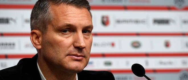 Olivier Letang Le President Du Stade Rennais Quitte Son Poste Le Point