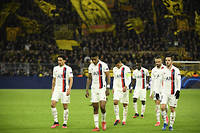 Le Paris Saint-Germain s'incline face au Borussia Dortmund (2-1).