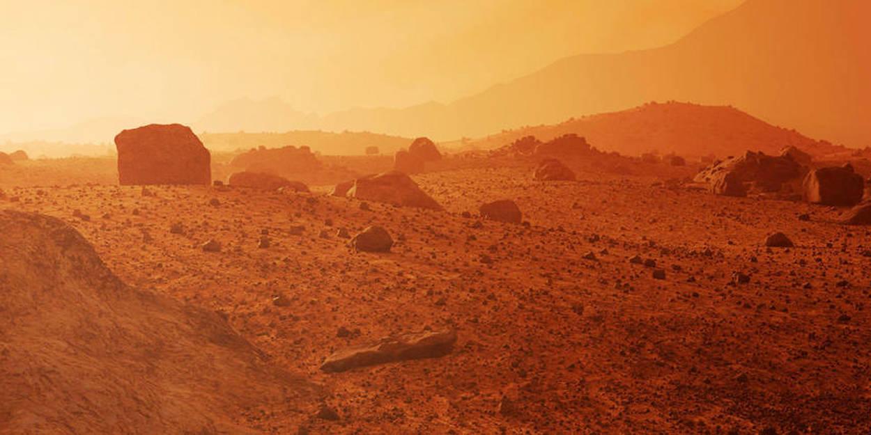 Des séismes détectés pour la première fois sur Mars - Le Point