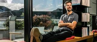 Michael Shellenberger, militant écologiste americain, fondateur de l'association Environmental Progress , au siège du « Point », à Paris, le 18 octobre 2019.
