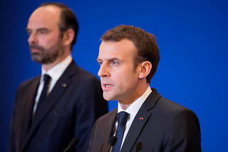 Emmanuel Macron et Édouard Philippe. Photo d'illustration