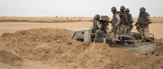 Mauritanie Soldat Modele Du G5 Sahel Le Point