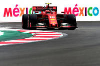 Performantes, très performantes les Ferrari F1 au GP du Mexique 2019.