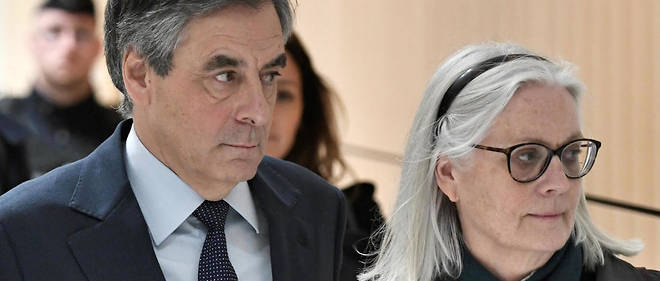 Le proces de Francois et Penelope Fillon se poursuit.