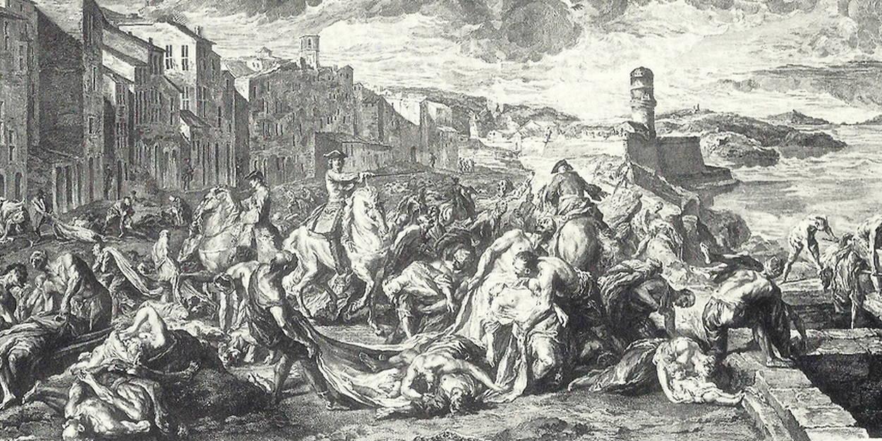 La peste de Marseille de 1720 décrite par un médecin - Le Point