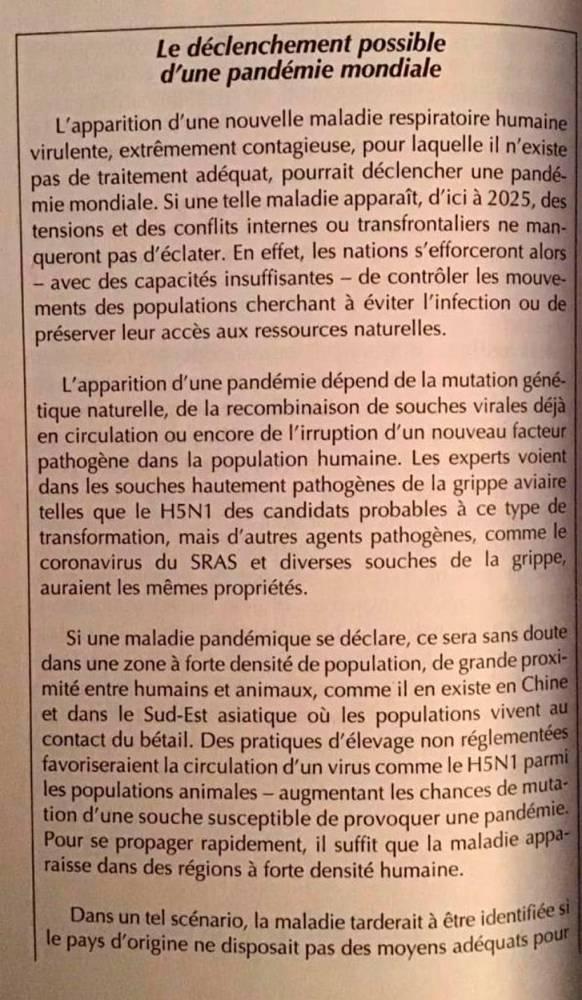 -pandémie-CIA-Renseignement-Coronavirus-Covid-19- ©  Éditions Robert Laffont