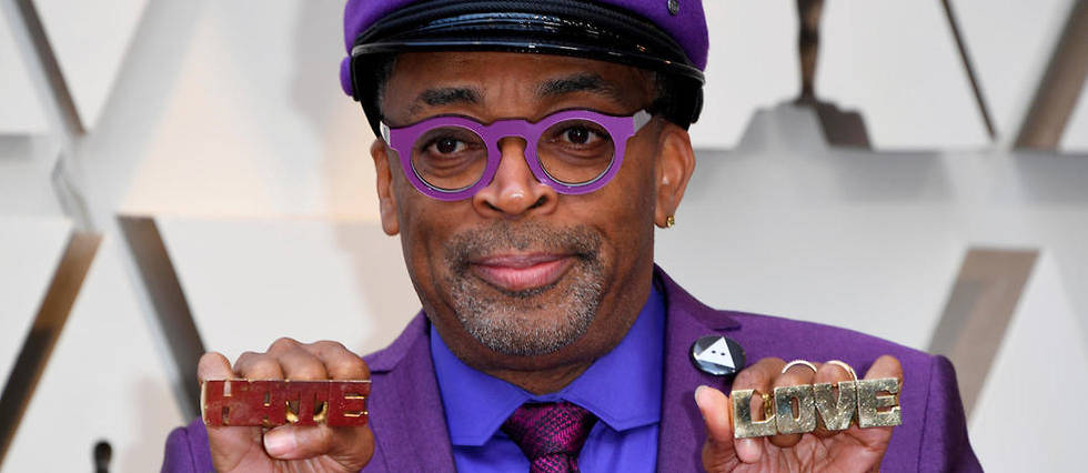 Le realisateur Spike Lee au Dolby Theatre a Hollywood le 24 fevrier 2019