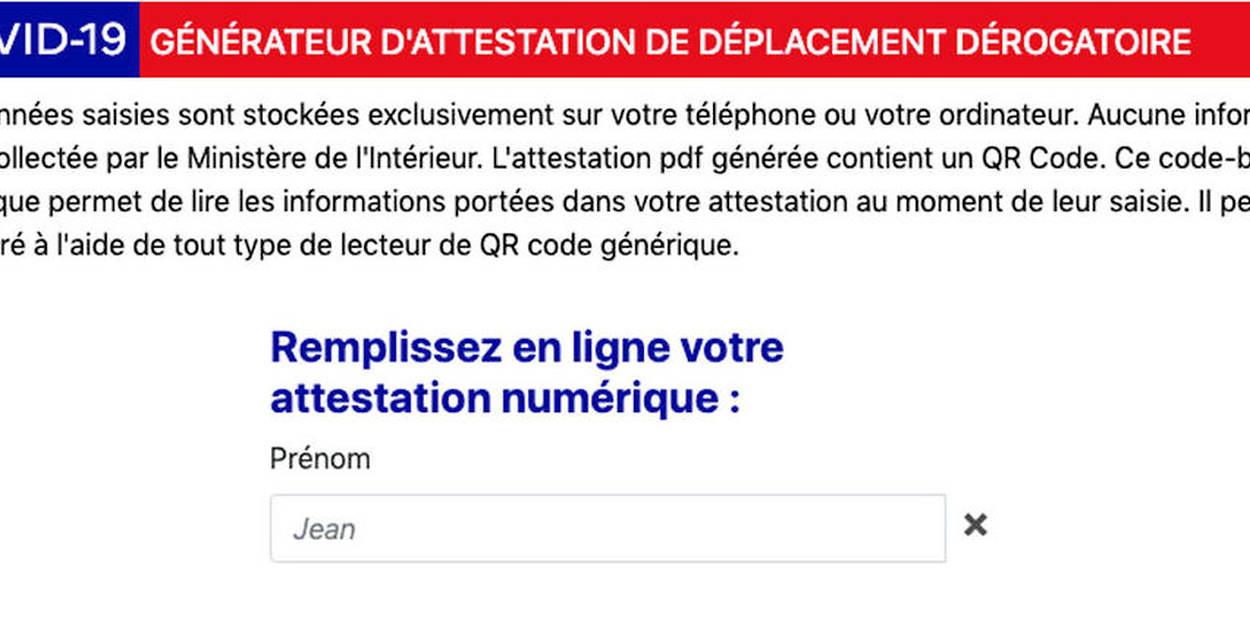 Confinement Comment Utiliser L Attestation Numerique Sur Son Smartphone Le Point
