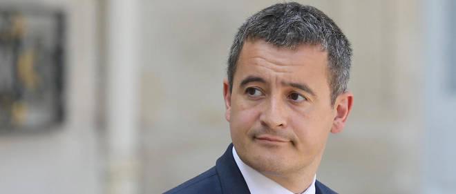 Une prime allant jusqu'a 1 000 euros va etre reversee a certains fonctionnaires qui poursuivent leur mission de service public, a annonce Gerald Darmanin (photo d'illustration).