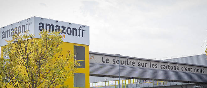 Centre de distribution d'Amazon a Saran.