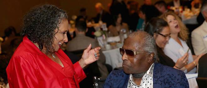 Avec Chuck Berry et Fats Domino, Little Richard (a droite sur la photo) a contribue a metamorphoser le blues.