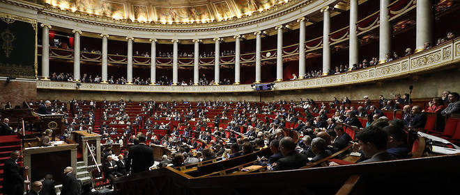 L'Assemblee nationale. (Image d'illustration)