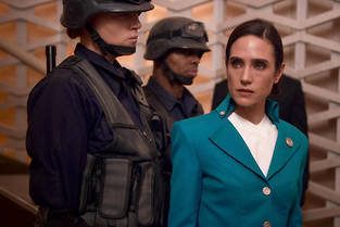 Jennifer Connelly dans << Transperceneige >>.