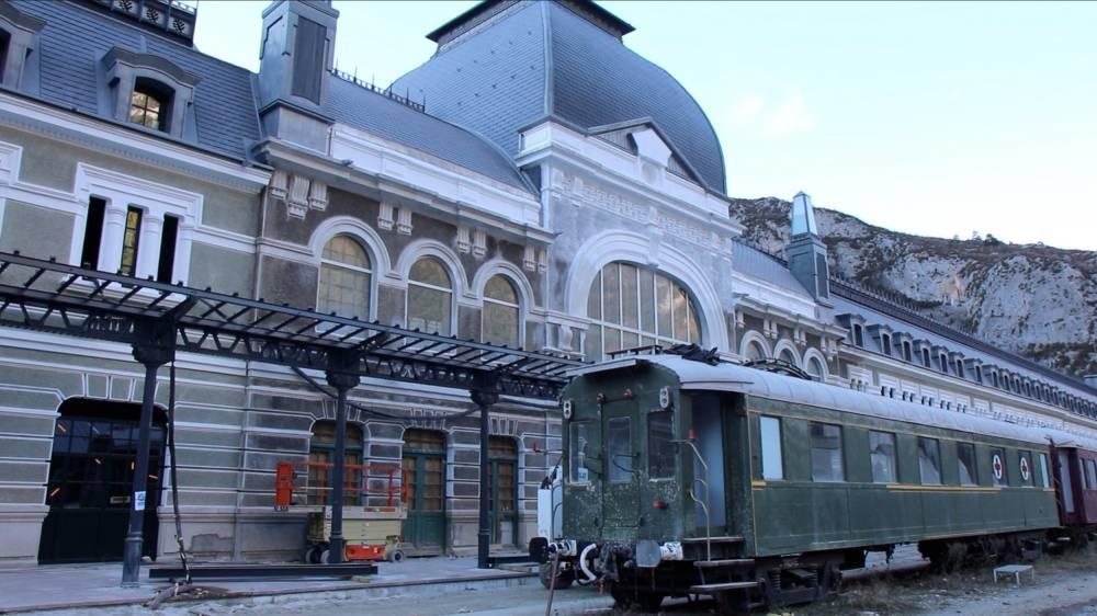 Canfranc, Gare, Train ©  Emmanuel Durget/Le Point