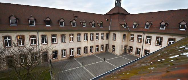 Les locaux de l'ENA (Ecole nationale d'administration) a Strasbourg.