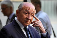 Gérard Collomb en juillet 2019 (photo d'illustration).
