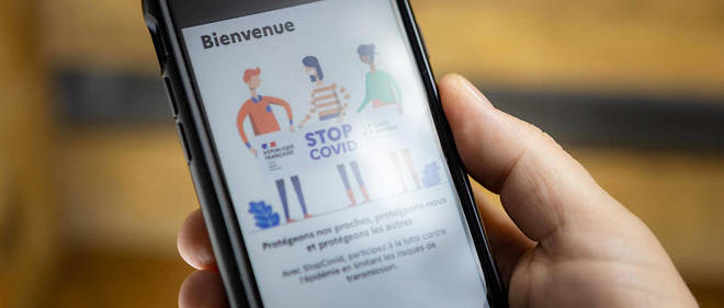 L'application mobile du gouvernement pour la recherche et le tracage de contacts pour lutter contre le Covid-19. France, 26 mai 2020.