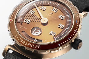 Montre Reservoir Hydrosphère Bronze The Maldives Edition.