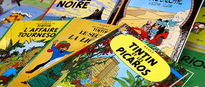 Les couvertures de Tintin inspirent de nombreux detournements. (Photo d'illustration)